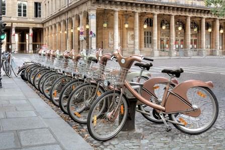 Paris Cycles 1 by Alan Blaustein art print