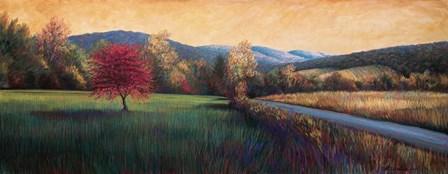 Near Salem by Beth Crowder art print