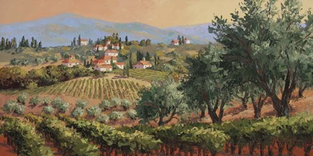 Fruits of Tuscany by Erin Dertner art print