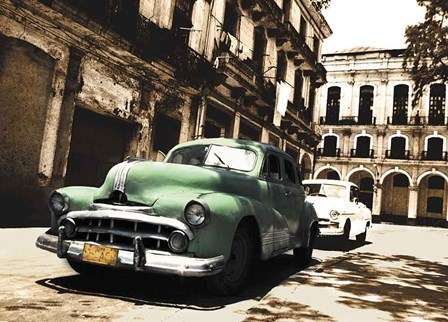 Cuban Cars II by C.J. Groth art print