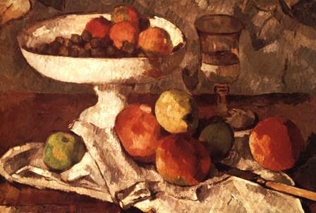 Still Life Detail by Paul Cezanne art print