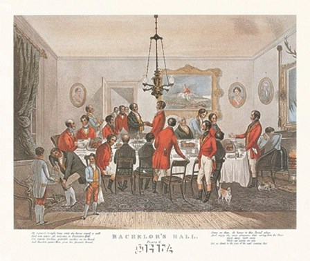 Bachelor's Hall/Plate No. 6 by Francis Calcraft Turner art print