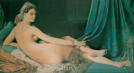 Odalisque by Jean-Auguste-Dominique Ingres art print
