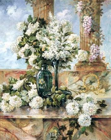 Hydrangeas in Bloom by Paul Groeber art print