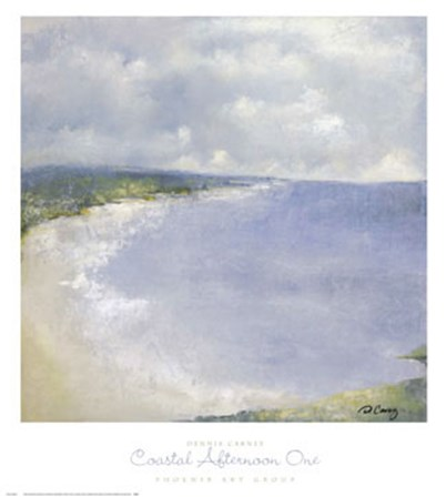 Coastal Afternoon One by Dennis Carney art print