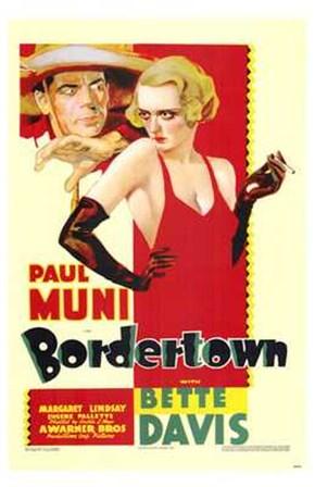 Bordertown art print
