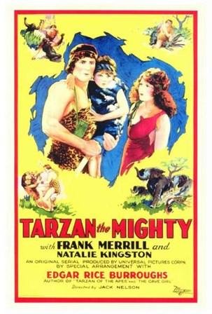 Tarzan the Mighty, c.1928 art print