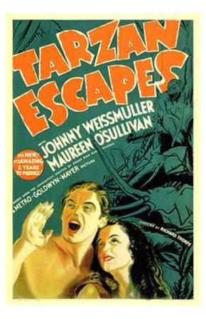 Tarzan Escapes, c.1936 art print