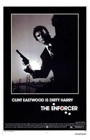 The Enforcer Clint Eastwood is Dirty Harry art print