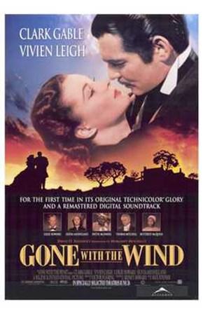 Gone with the Wind Scarlett O'Hara art print