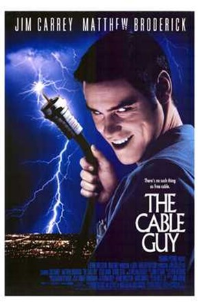 The Cable Guy art print