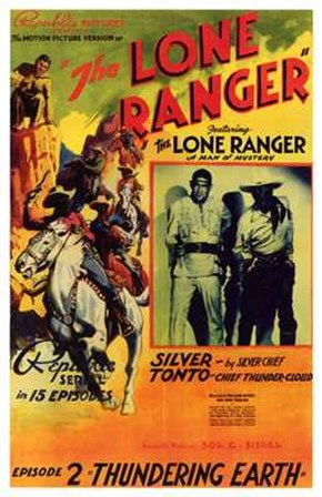 The Lone Ranger - Episode 2 art print