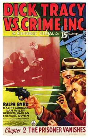 Dick Tracy Vs Crime Inc Chapter 2 art print