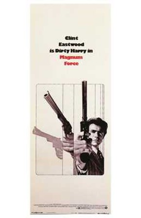 Magnum Force - Clint Eastwood art print