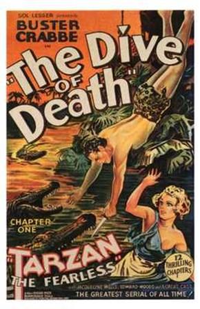 Tarzan the Fearless, c.1933 chapter 1 art print