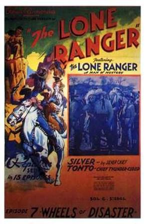 The Lone Ranger - Episode 7 art print
