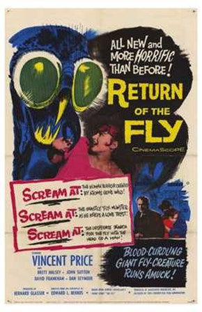 Return of the Fly art print