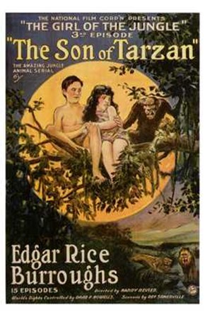 The Son of Tarzan, c.1920 - style A art print