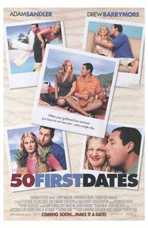 50 First Dates - pictures art print
