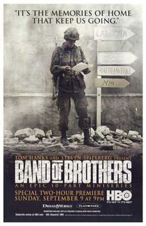 Band of Brothers Memories Keep Us Going art print