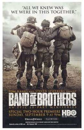 Band of Brothers HBO art print