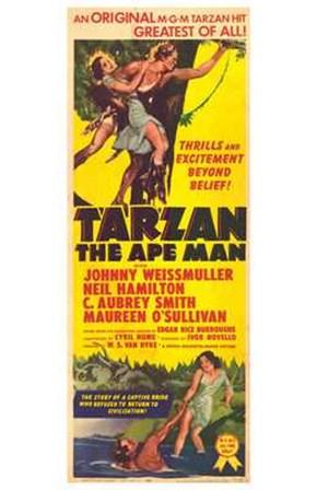 Tarzan the Ape Man, c.1932 art print