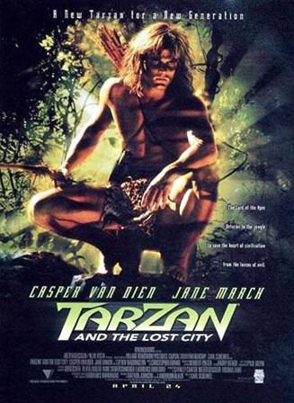Tarzan and the Lost City, c.1998 - style A art print