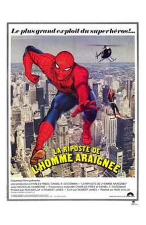 Spiderman Strikes Back art print