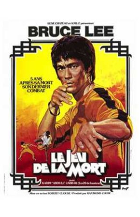 Game of Death French art print