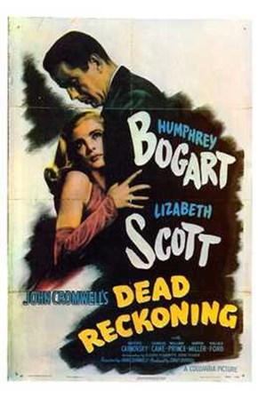 Dead Reckoning Lizabeth Scott & Humphrey Bogart art print