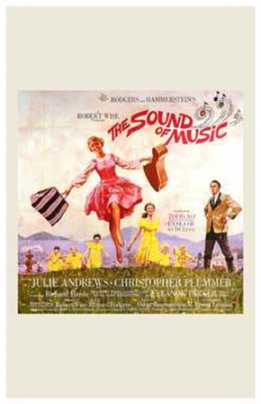 The Sound of Music Square art print