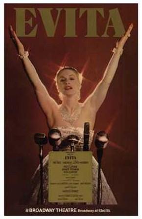 Evita (Broadway Musical) art print