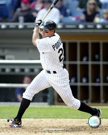 2005 - Scott Podsednik Batting Action art print