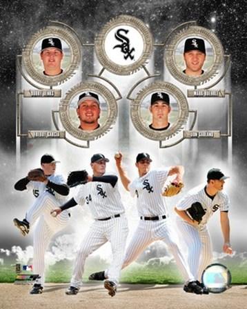 White Sox - 2006 Big 4 Pitchers art print