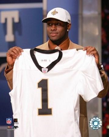 Reggie Bush - 2006 NFL Draft Day art print