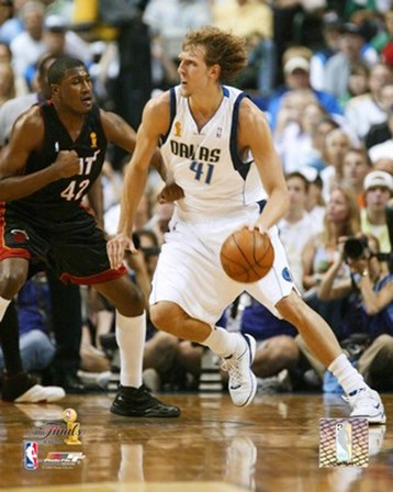 Dirk Nowitzki - 2006 Finals / Game 2 Dribble (#10) art print