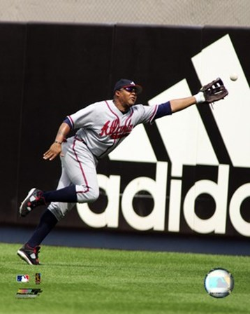 Andruw Jones - 2006 Fielding Action art print