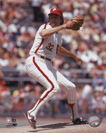 Steve Carlton - 1972 Action art print