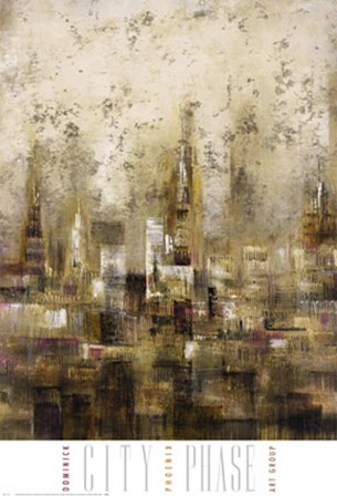 City Phase by Stephen Dominick art print