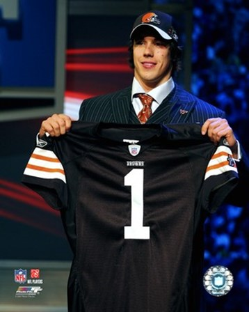 Brady Quinn - 2007 NFL Draft Day art print
