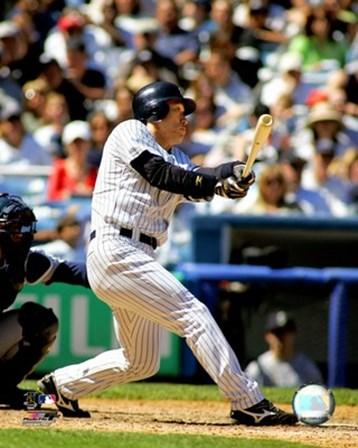 Hideki Matsui - 2007 Batting Action art print
