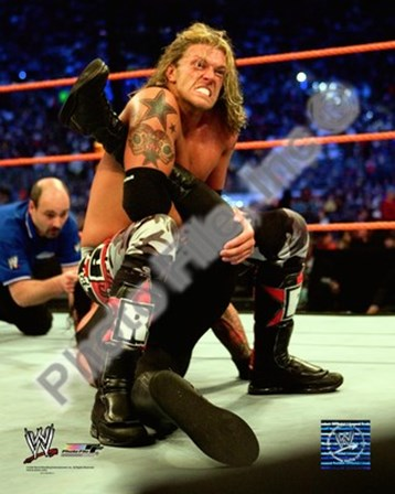 Edge - Wrestlemania 24, 2008 #487 art print