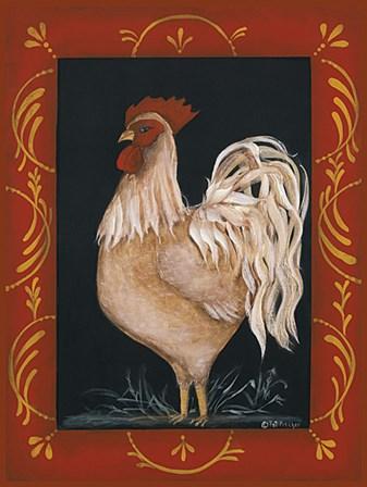 Rooster by Pat Fischer art print