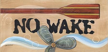 No Wake by Deb Collins art print