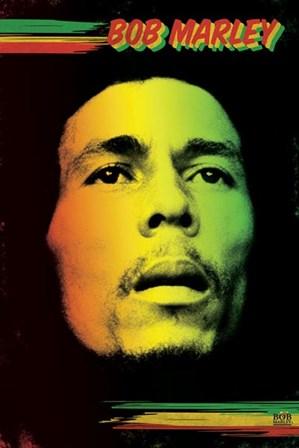 Bob Marley - Face art print