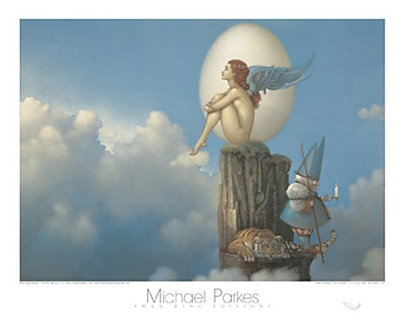 Magic Spring by Michael Parkes art print