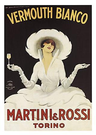 Martini and Rossi by Marcello Dudovich art print