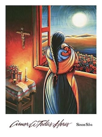 Amor a Todas Horas by Simon Silva art print