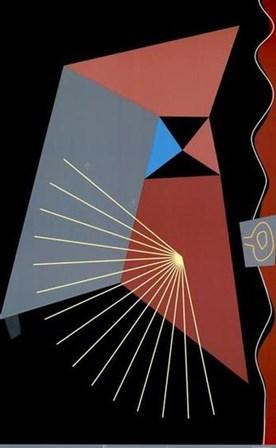 Metronome by David Case art print