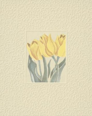 Tulips by John W. Hope art print